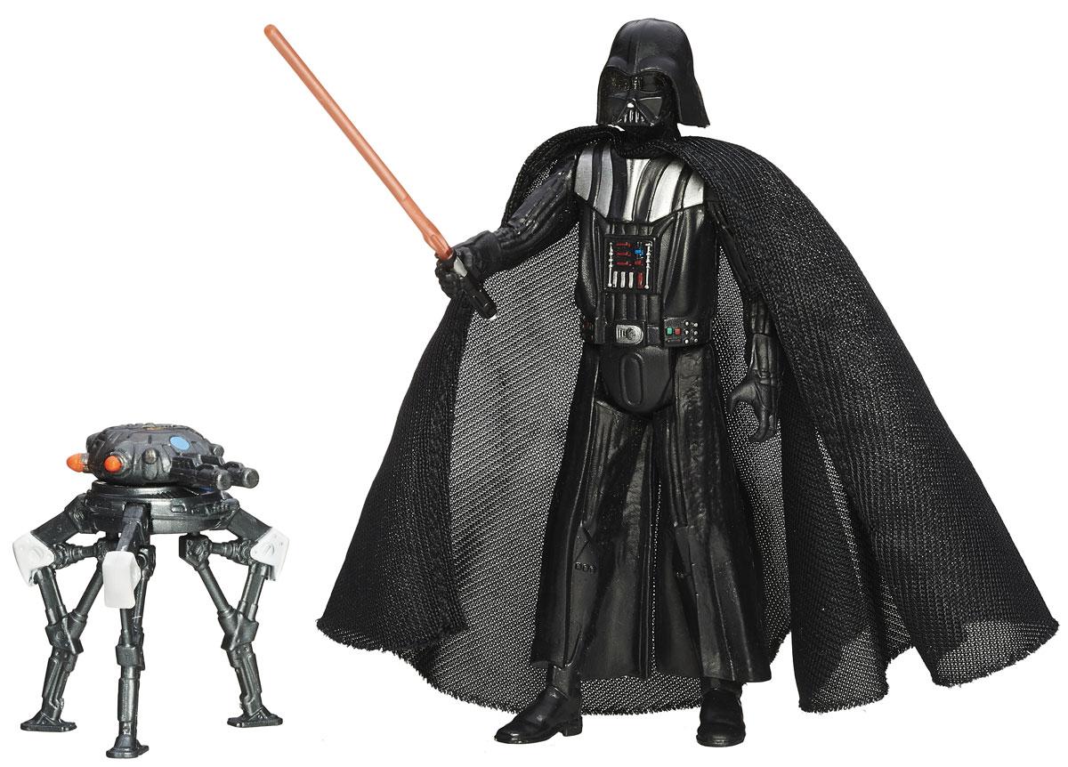 Star Wars Фигурка Darth VaderB3963EU4_B3966Фигурка создана в виде героя всеми любимой фантастической саги Звездные Войны Дарт Вейдера. Фигурка из пластика проработана до мельчайших деталей и является точной копией своего прототипа в уменьшенном размере. Конечности фигурки подвижны: поворачивается голова, сгибаются ноги в коленях, а руки в локтях. Все это сделает игру реалистичной и разнообразной. Такая фигурка непременно понравится поклоннику Звездных войн и станет замечательным украшением любой коллекции. В наборе: фигурка и оружие.