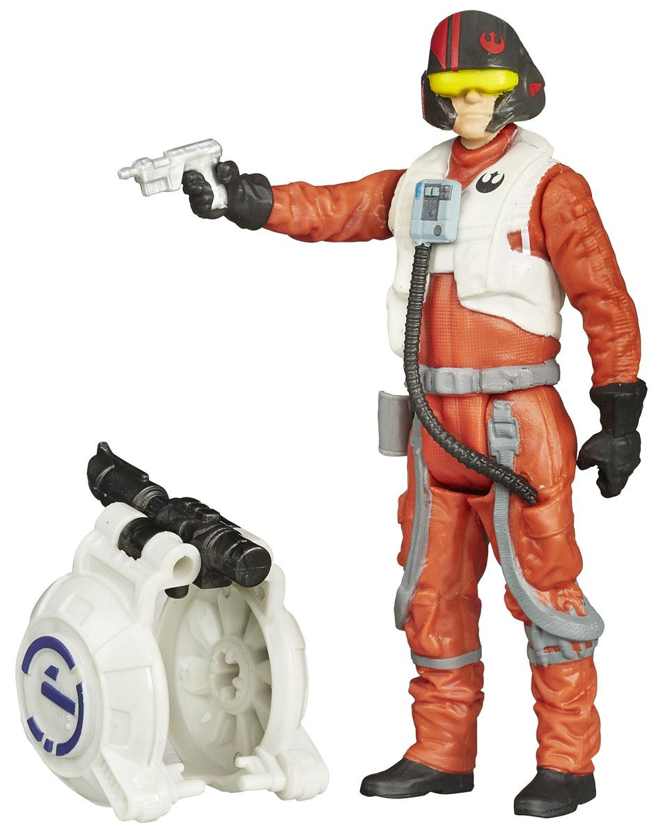 Star Wars Фигурка Poe DameronB3445EU4_B3449Фигурка создана в виде героя всеми любимой фантастической саги Звездные Войны По Дамерона. Фигурка из пластика проработана до мельчайших деталей и является точной копией своего прототипа в уменьшенном размере. Конечности фигурки подвижны: поворачивается голова, сгибаются ноги и руки. Все это сделает игру реалистичной и разнообразной. Герой По Дамерон - пилот Сопротивления, который является лидером в борьбе против зла первого порядка. Такая фигурка непременно понравится поклоннику Звездных войн и станет замечательным украшением любой коллекции. В наборе: фигурка и снаряжение.