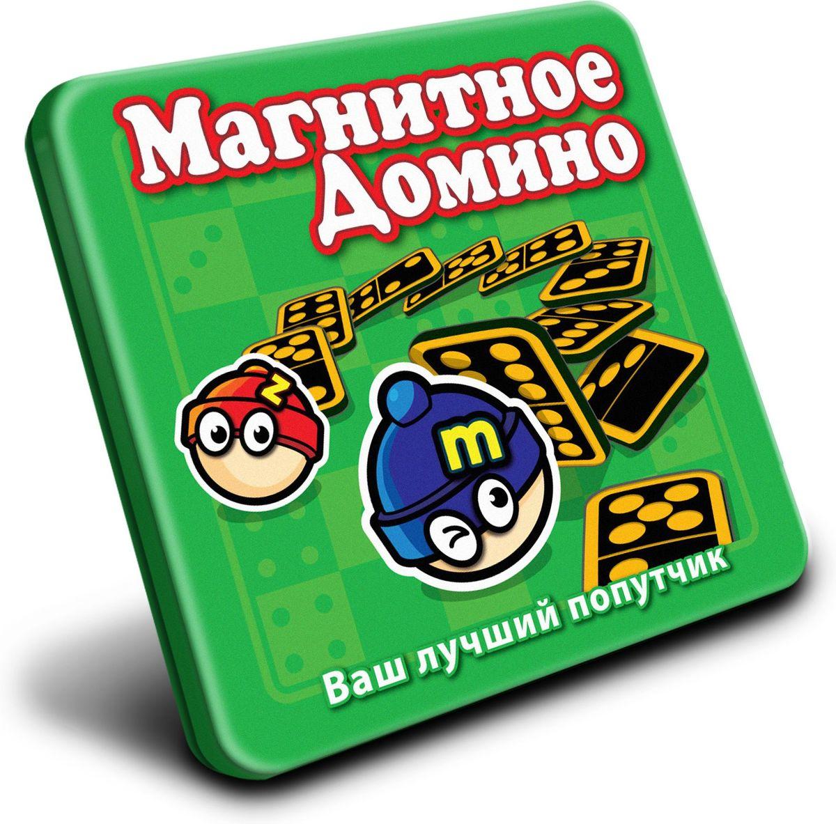 Mack & Zack Магнитная игра ДоминоMT010Материал для изготовления костяшек для домино, одной из самых древних игр, менялся по ходу истории от слоновой кости до кости животного с маленькими, круглыми вставками из черного дерева. Название игры происходит от сходства костяшек и масок Венецианского Карнавала, известных как домини, которые были белого цвета с черными пятнами. Теперь ты можешь поиграть в Домино с магнитными костяшками!