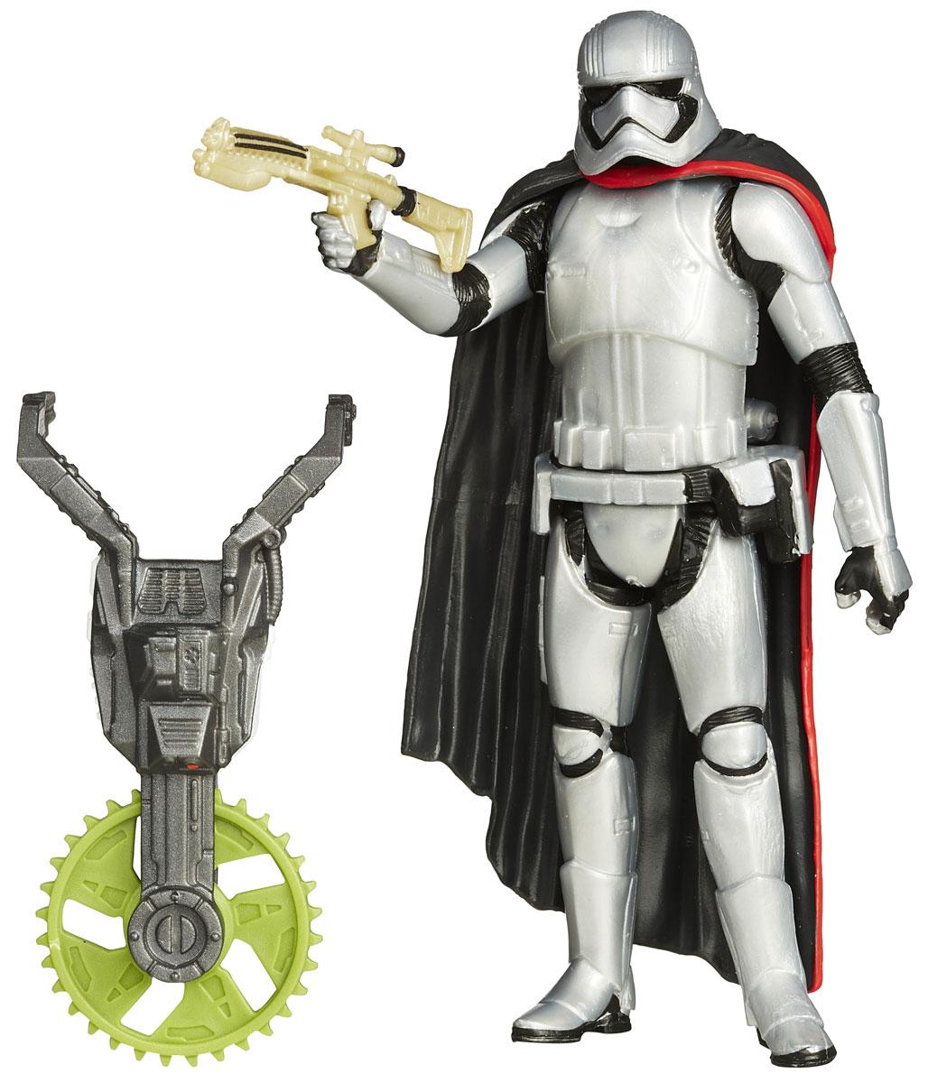 Star Wars Фигурка Captain PhasmaB3445EU4_B3447Фигурка Captain Phasma создана в виде героя всеми любимой фантастической саги Звездные Войны. Фигурка из пластика проработана до мельчайших деталей и является точной копией своего прототипа в уменьшенном размере. Конечности фигурки подвижны: поворачивается голова, сгибаются ноги и руки. Все это сделает игру реалистичной и разнообразной. Герой Капитан Фазма - командир легиона десантников первого порядка, одетый в характерные металлические доспехи. Такая фигурка непременно понравится поклоннику Звездных войн и станет замечательным украшением любой коллекции. В наборе: фигурка и снаряжение.