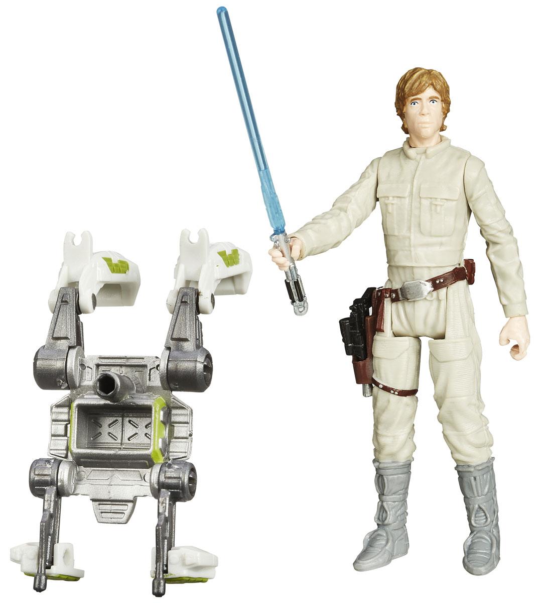 Star Wars Фигурка Luke SkywalkerB3445EU4_B3448Фигурка Luke Skywalker создана в виде героя всеми любимой фантастической саги Звездные Войны Люка Скайуокер. Фигурка из пластика проработана до мельчайших деталей и является точной копией своего прототипа в уменьшенном размере. Конечности фигурки подвижны: поворачивается голова, сгибаются ноги и руки. Все это сделает игру реалистичной и разнообразной. Такая фигурка непременно понравится поклоннику Звездных войн и станет замечательным украшением любой коллекции. В наборе: фигурка и снаряжение.