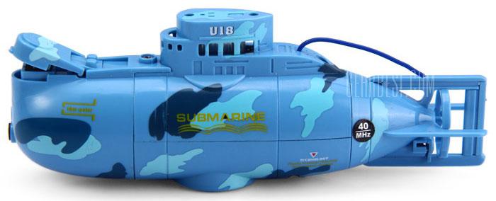 Bluesea Подводная лодка на радиоуправлении цвет синий ( 3311 )