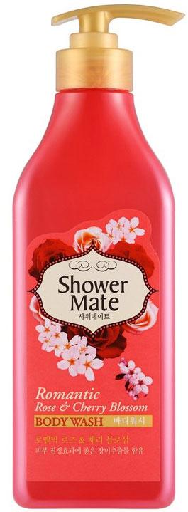 Shower Mate Гель для душа Роза и вишневый цвет, 550 г892411Экстракт розы увлажняет и успокаивает кожу. Экстракт вишни делает кожу гладкой и эластичной. Роскошный аромат розы и едва уловимый аромат цветов вишни создают романтичное настроение и ощущение полного блаженства.
