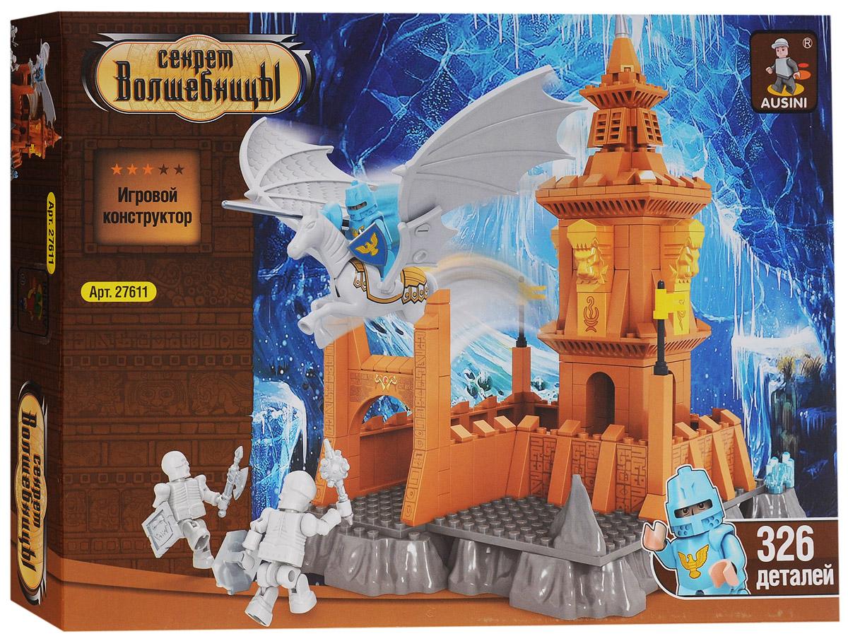 Ausini Конструктор Секрет волшебницы 2761127611Конструктор Ausini Секрет волшебницы состоит из 326 элементов, с помощью которых ребенок сможет построить целый замок, расположенный в ледяных скалах. Там Ледяной рыцарь на Снежном Пегасе противостоит армии скелетов. В комплекте 2 фигурки скелетов, фигурка рыцаря и Пегаса. Детали конструктора легко соединяются между собой, а также совместимы с конструкторами других марок. Малыш часами будет играть с этим конструктором, придумывая разные истории и комбинируя детали. Конструктор Ausini Секрет волшебницы - это замечательная развивающая игрушка, которая не только развлечет вашего ребенка, но и будет способствовать развитию мелкой моторики, тактильного и визуального восприятия, мышления, воображения, внимательности и усидчивости, а также познакомит его с основами моделирования и конструирования. Совместим с конструкторами Лего.