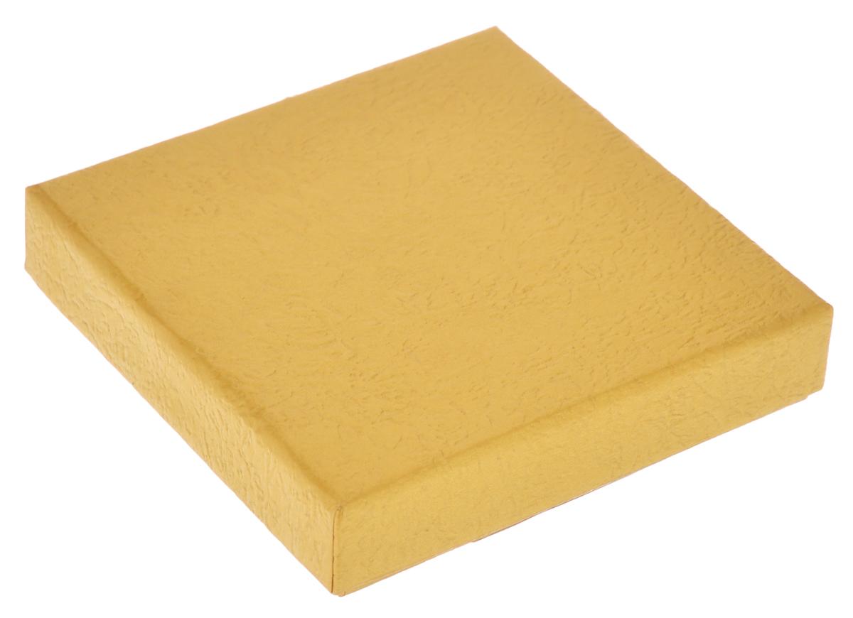 Подарочная коробка Феникс-презент, цвет: золотисто-песочный, 9 х 9 х 2 см36280Подарочная коробка Феникс-презент выполнена из мелованного, негофрированного картона. Коробка вместительная, закрывается крышкой. Подарочная коробка - это наилучшее решение, если вы хотите порадовать ваших близких и создать праздничное настроение, ведь подарок, преподнесенный в оригинальной упаковке, всегда будет самым эффектным и запоминающимся. Окружите близких людей вниманием и заботой, вручив презент в нарядном, праздничном оформлении.