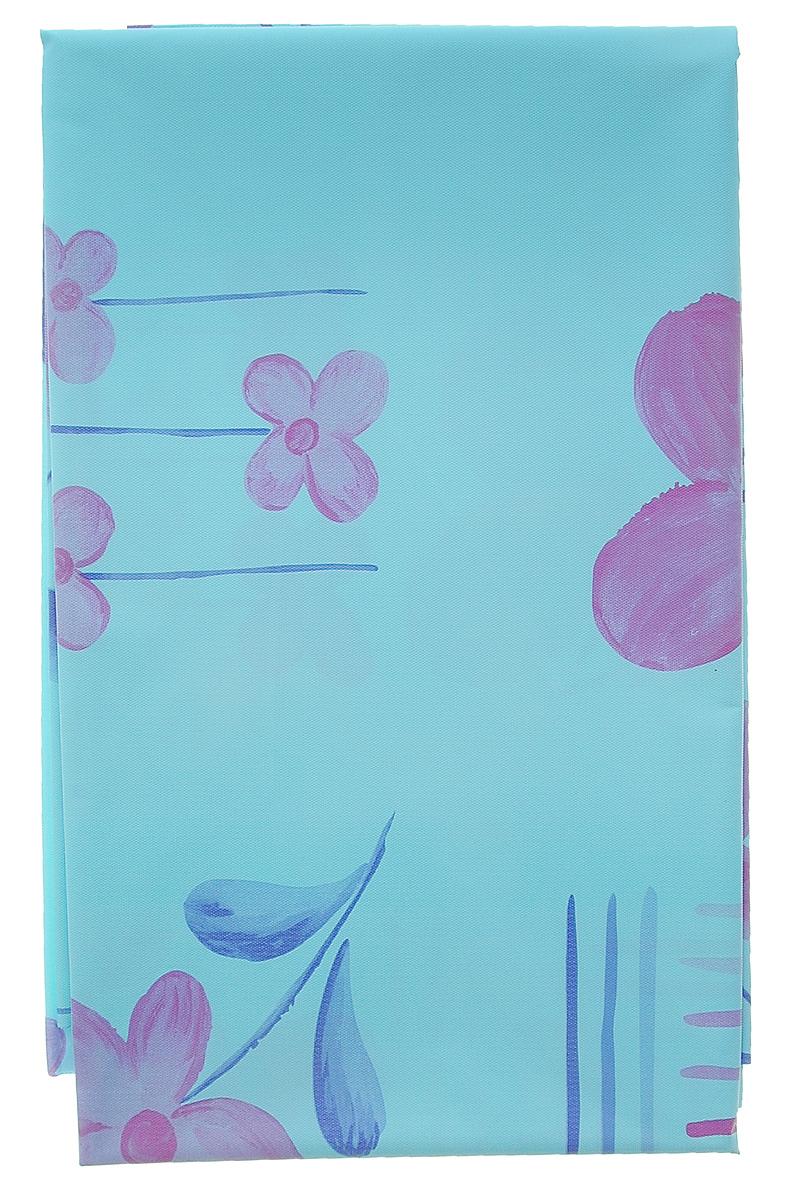 Скатерть Eva, многоразовая, цвет: голубой, розовый, 150 смx120 см. Е902 - EvaЕ902_голубой, розовыйСкатерть Eva гармонично впишется в любой современный кухонный интерьер, а оригинальный мотив удовлетворит даже самый взыскательный вкус. Скатерть выполнена из материала ПЕВА, благодаря чему она подходит для многократного использования. В современном мире кухня - это не просто помещение для приготовления и приема пищи, это особое место, где собирается вся семья и царит душевная атмосфера. Кухня - душа вашего дома, поэтому важно создать в ней атмосферу уюта.