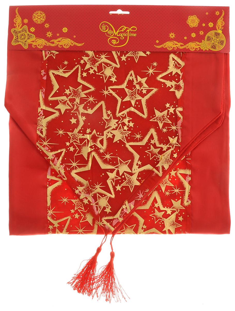 Дорожка для декорирования стола Феникс-презент Звезды, цвет: красный, золотистый, 35 x 140 см38918Прямоугольная дорожка Феникс-презент Звезды, изготовленная из полиэстера, предназначена для декорирования стола. Дорожка украшена ярким рисунком и имеет изысканный внешний вид. Дорожка Феникс-презент Звезды станет великолепным украшением стола и создаст атмосферу праздника в интерьере вашей кухни.