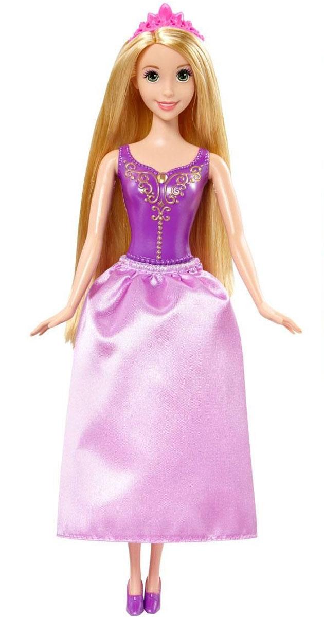 Disney Princess Кукла Рапунцель цвет платья сиреневыйY5647_CHF89Очаровательная кукла Рапунцель непременно понравится вашей малышке. С самого рождения принцесса Рапунцель была наделена необычным даром. Ее великолепные, золотые волосы обладали чудодейственными и целительными свойствами. Заточенная в башне злой колдуньей юная девушка не знала ничего об окружающей жизни. Кукла имеет пластиковый корсет (нельзя снять) и пышную юбку сиреневого цвета. У нее длинные золотые волосы и диадема на голове. Порадуйте свою дочурку таким замечательным подарком!