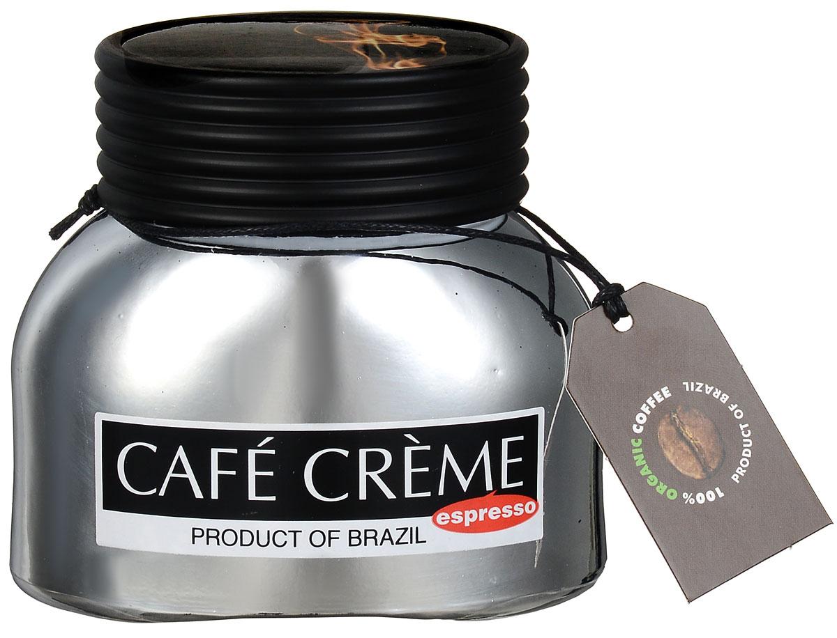 Cafe Creme Еspresso кофе растворимый, 50 г4607141336713Cafe Creme Еspresso - это смесь растворимого и молотого кофе, позволяющая быстро приготовить настоящий эспрессо. Гранулы натуральной арабики смешаны с мелко молотыми кофейными зернами Витории, обжаренными по оригинальному бразильскому рецепту. За несколько секунд вы получите именно тот крепкий и бодрящий эспрессо, который так любят пить по утрам жители солнечной Бразилии!