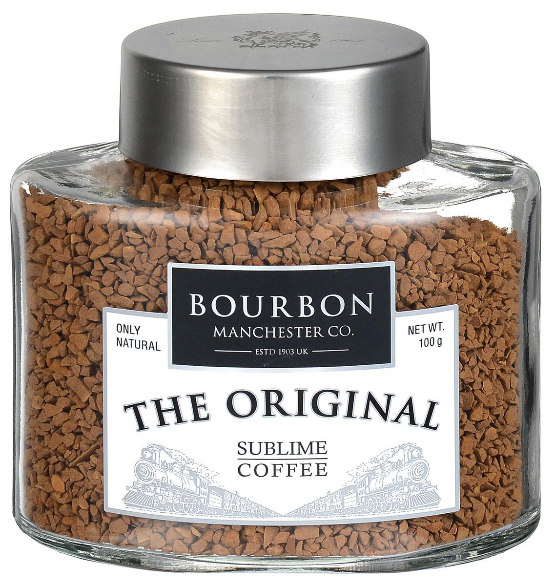 Bourbon Original кофе растворимый, 100 г4607141335525Bourbon Original - это купаж лучших сортов бразильской и коста-риканской арабики. Кофейные зерна были обжарены на медленном огне по оригинальному бразильскому рецепту. Bourbon Original имеет насыщенный вкус с легкой кислинкой, нотками фундука и горького шоколада.