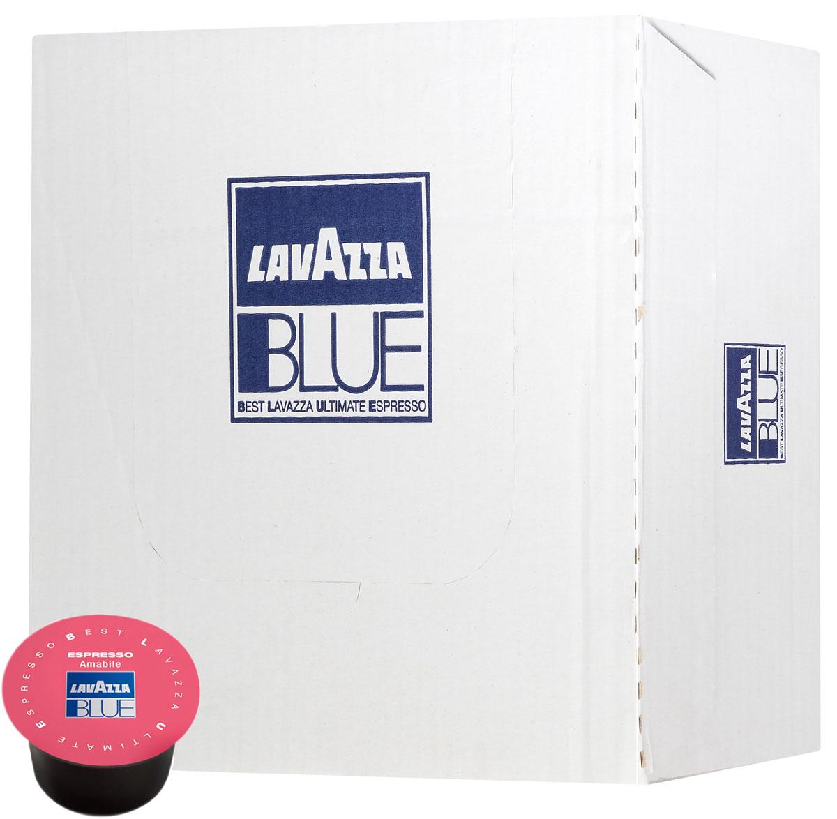 Lavazza Espresso Amabile кофе в капсулах, 100 шт8000070109803Lavazza Espresso Amabile - это смесь Арабики из Бразилии и Центральной Америки и Робусты из Юго-Восточной Азии. Напиток отличается мягким шоколадным вкусом и тонким ароматом, а также бархатистой устойчивой пенкой (крема). Специальный процесс купажа и крупный помол образуют ровный и кремообразный стандартный или лунго-эспрессо со сбалансированным послевкусием.