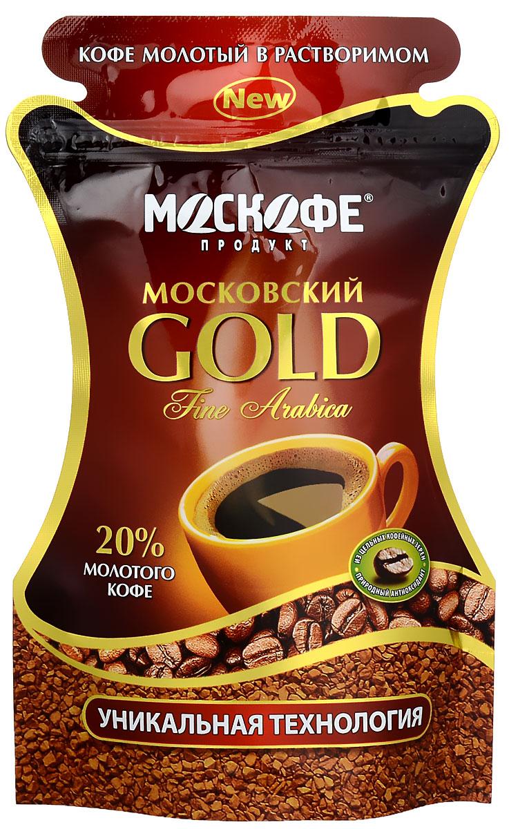 Москофе Московский Gold кофе растворимый, 85 г