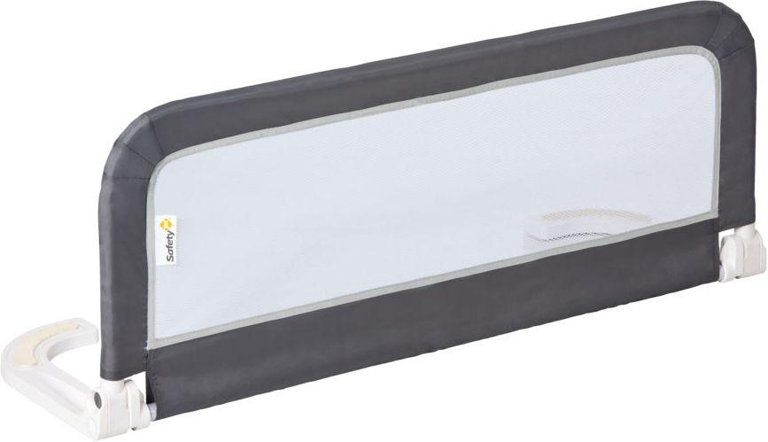 Safety 1st Барьер для кроватки 106 см24830011Сетчатый барьер Portable Bed rail Safety 1st белого цвета на алюминиевой основе легко устанавливается под матрацем кровати и предотвращает падение ребенка во сне. В случае необходимости откидывается, и вы легко можете взять малыша из кровати или прилечь с ним или когда ребенку надо спуститься. Подходит для большинства моделей кровати. Компактно складывается для транспортировки,длина 66см, занимая минимум места для хранения . Применим к матрасам длиной от 156 см и толщиной от 10 см до 24 см.,высота 43см. Металлический каркас с металлопластиковым крепежом. Соответствует Европейской норме BS7972. Гарантия: 12 мес.