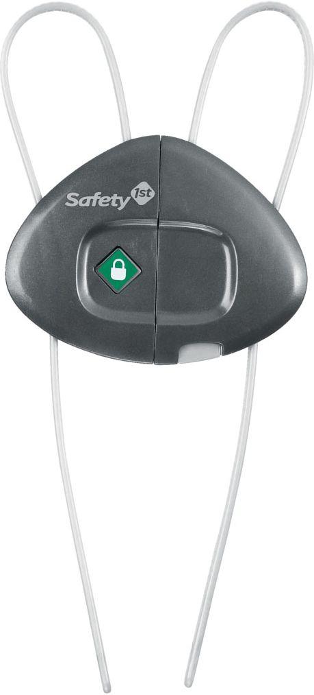 Safety 1st Блокиратор открывания распашных дверей33110038Блокирующее устройство Safety 1st для распашных дверей, ящиков поможет уберечь ребенка от травм. Когда малыш начинает ходить, дверь становиться его первой опасностью, поэтому блокирующее устройство не позволит малышу открыть дверь.Не требует специального крепления.Цвет серый.