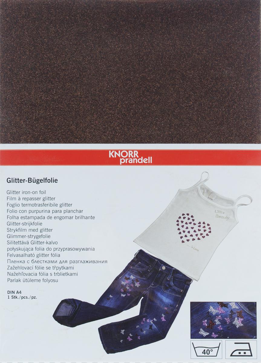Фольга для декорирования ткани Knorr Prandell, цвет: коричневый, 20,4 см х 29,6 см2179025-30Фольга Knorr Prandell предназначена для декорирования ткани. Нужно просто создать необходимый узор и нанести на ткань с помощью утюга. Также фольга может использоваться для украшения картонных коробок и металлических или деревянных изделий. Можно стирать при температуре до 40°С.