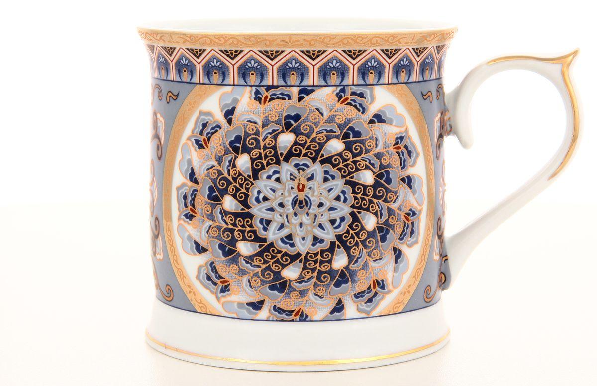 Кружка Elan Gallery Калейдоскоп, 400 мл470429Кружка Elan Gallery Калейдоскоп, выполненная из высококачественной керамики, идеально подходит для любителей чая и кофе. Она станет отличным дополнением к сервировке семейного стола, а также замечательным подарком для ваших родных и друзей. Не использовать в микроволновой печи. Диаметр кружки (по верхнему краю): 9,4 см.
