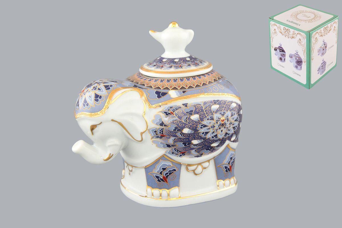 "Чайница Elan Gallery ""Слон. Калейдоскоп"", 350 мл"