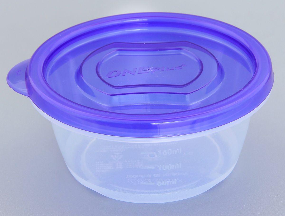 Контейнер пищевой Xeonic One Plus+, 190 мл810045Герметичный контейнер для хранения продуктов Xeonic One Plus+ произведен из высококачественного полипропилена. Изделие термоустойчиво, может быть использовано в микроволновой печи и в морозильной камере, устойчиво к воздействию масел и жиров, не впитывают запах. Контейнер удобен в использовании, долговечен, легко открывается и закрывается. Сбоку имеется мерная шкала. Контейнер компактен и не займет много места. Можно мыть в посудомоечной машине. Диаметр по верхнему краю: 10 см. Диаметр дна: 7,5 см. Высота с учетом крышки: 5 см.