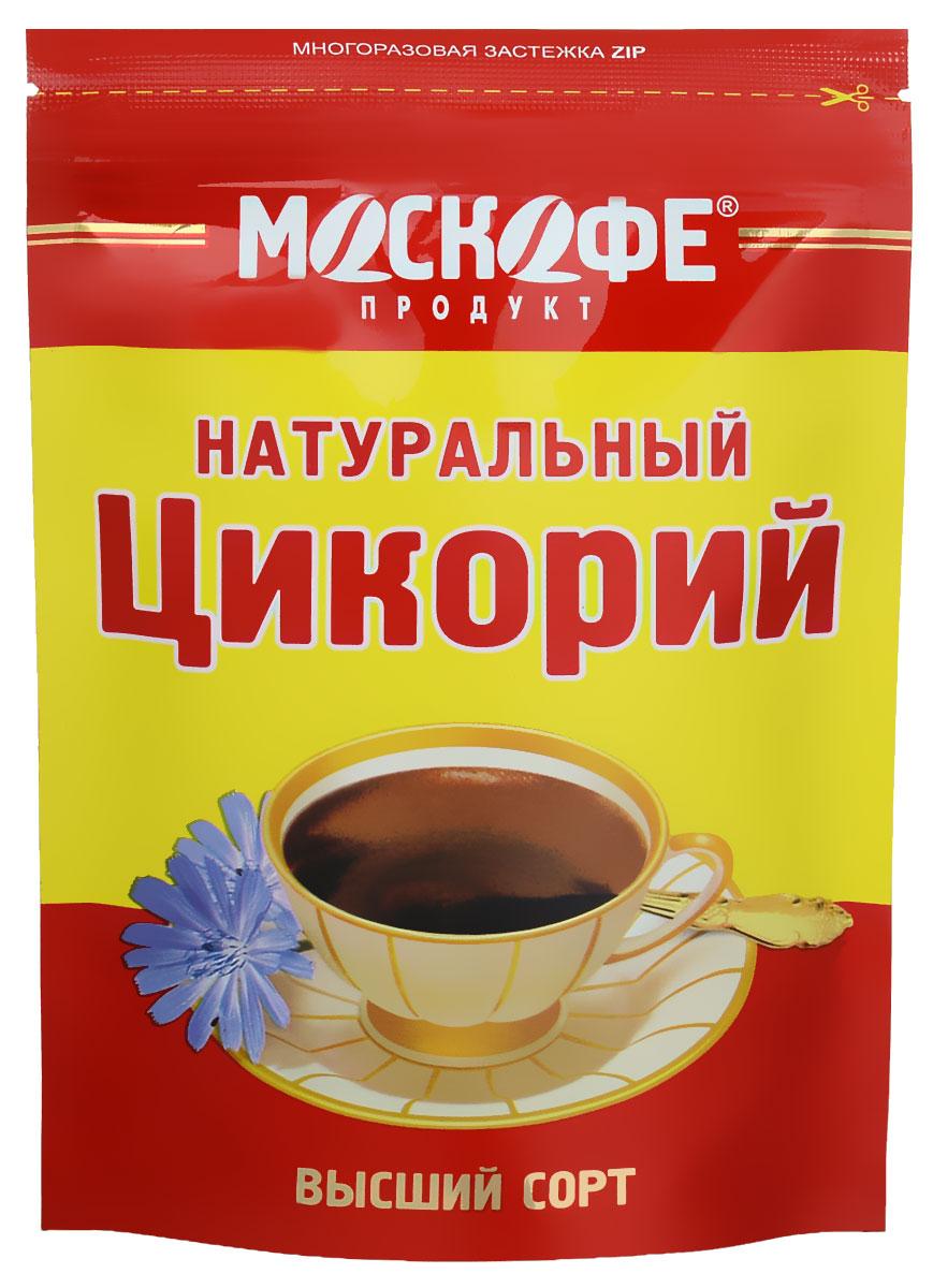 Москофе Московский цикорий, 100 г4607805480011Москофе Московский цикорий - это 100% натуральный растворимый цикорий, без добавления сахара, кофеина, и примесей. Заваренный напиток обладает нежным цветочным ароматом.