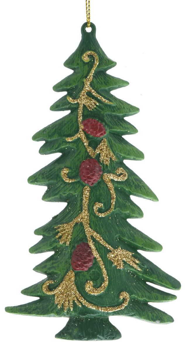 Новогоднее подвесное украшение Феникс-презент Елочка, цвет: зеленый, 12,5 х 6,8 см25879_зеленыйПодвесное украшение Феникс-презент Елочка, выполненное из пластика, прекрасно подойдет для праздничного декора вашей ели. Оригинальное новогоднее украшение в виде елки оформлено блестками. С помощью специальной текстильной петельки его можно повесить в любом понравившемся вам месте. Но удачнее всего такая игрушка будет смотреться на праздничной елке. Елочная игрушка - символ Нового года и Рождества. Она несет в себе волшебство и красоту праздника. Создайте в своем доме атмосферу веселья и радости, украшая новогоднюю елку нарядными игрушками, которые будут из года в год накапливать теплоту воспоминаний.