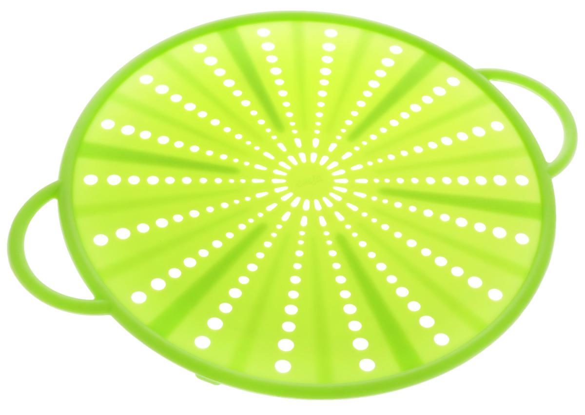 """Экран защитный Emsa """"Smart Kitchen"""", цвет: салатовый, диаметр 26 см"""