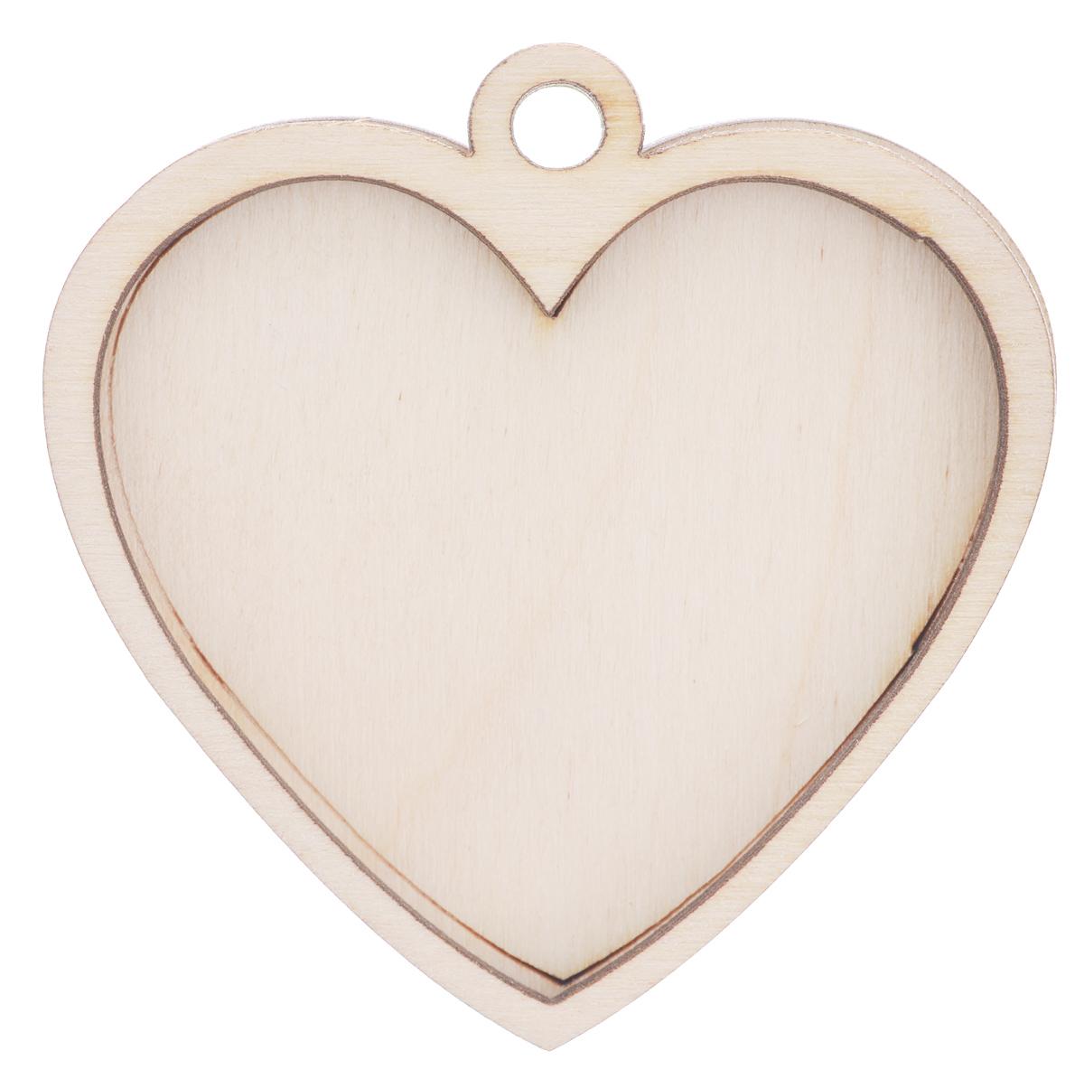 Деревянная заготовка Астра Медальон сердечко, 6 х 6 х 0,7 см486766Заготовка Астра Медальон сердечко, изготовленная из дерева, станет хорошей основой для вашего творчества. Заготовку можно украсить бисером, блестками, тесьмой, кружевом - возможности не ограничены. Творческий процесс развивает воображение, учит видеть сказку в обыденных вещах, ведь для нее всегда есть место в нашей жизни! Заготовка Астра Медальон сердечко станет идеальным украшением интерьера вашего дома и отличным подарком для вас и ваших близких.