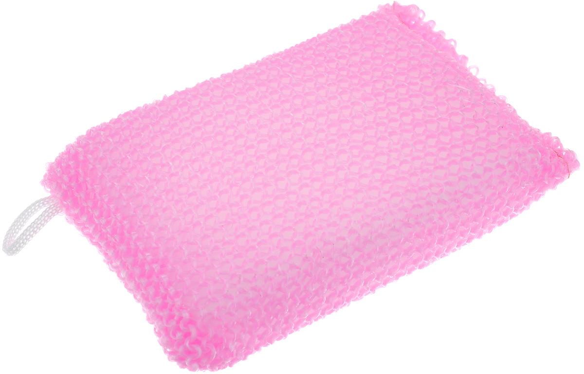 Мочалка Eva Вязаная, цвет: розовый, 11 х 17 смМ37_розовыйМочалка Eva Вязаная, изготовленная из современных синтетических материалов, станет незаменимым аксессуаром ванной комнаты. Она отлично очищает кожу, создает обильную пену, быстро сохнет, не требует ухода, существенно экономит моющие средства и имеет длительный срок службы Подходит для всех типов кожи и не вызывает аллергии.
