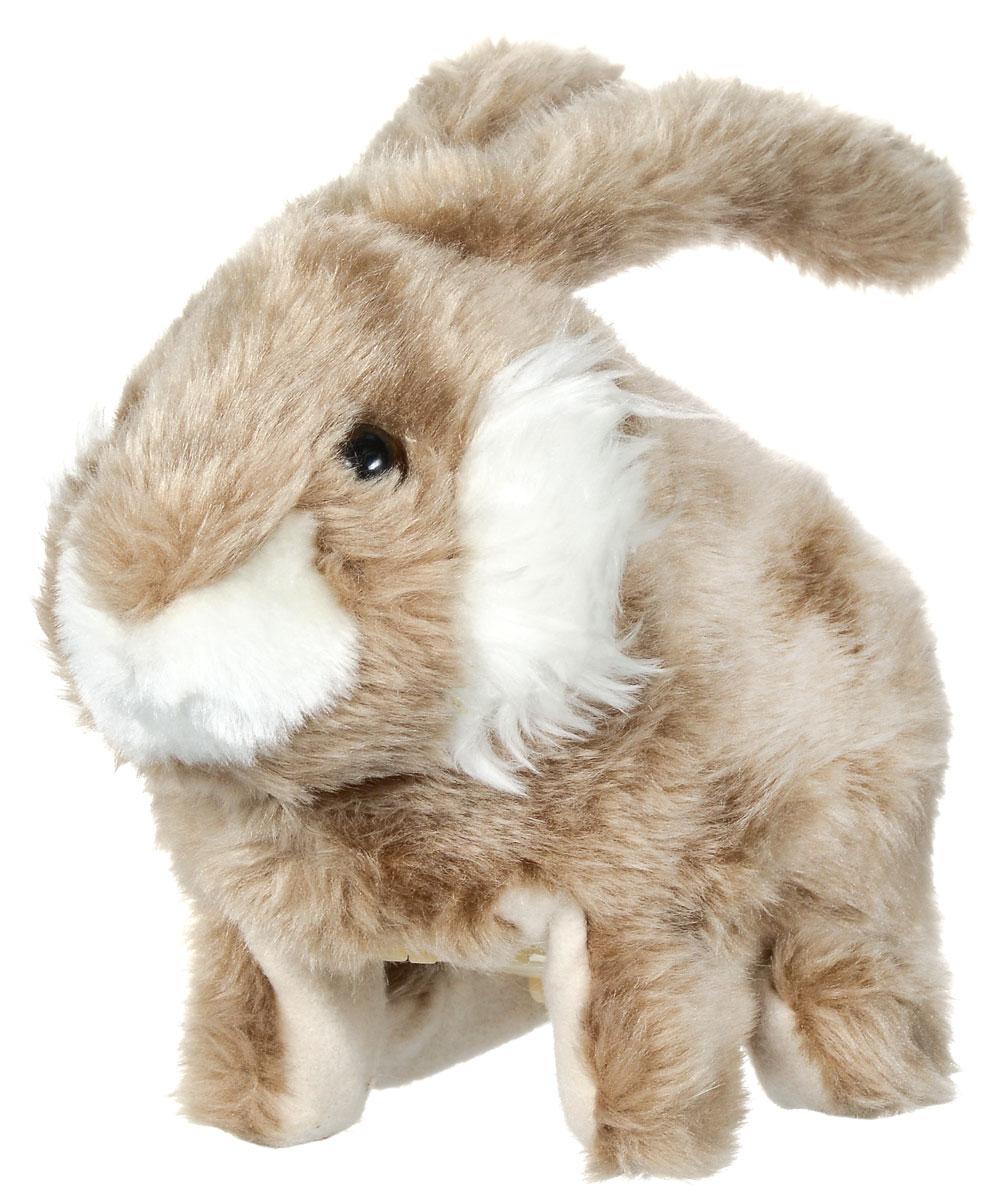 Sonata Style Анимированная мягкая игрушка Кролик 23 см2098095_бежевый, белыйАнимированная мягкая игрушка Sonata Style Кролик станет отличным подарком ребенку! Симпатичный кролик с большими ушками может похвастаться приятной на ощупь мягкой, нежной, как бархат шерсткой. Игрушка визуально в точности напоминает маленького кролика. Кролик умеет ходить, шевелить ушами и пищать. Забавная игрушка Sonata Style Кролик никого не оставит равнодушным! Для работы игрушки необходимы 2 батарейки типа АА (товар комплектуется демонстрационными).