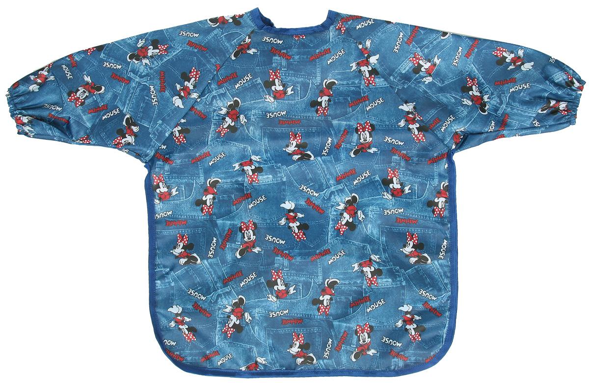 Спортбэби Фартук для детского творчества цвет синий черный красный возраст 1-2 года