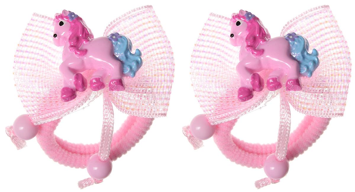 Baby's Joy Резинка для волос цвет розовый 2 шт VT 191