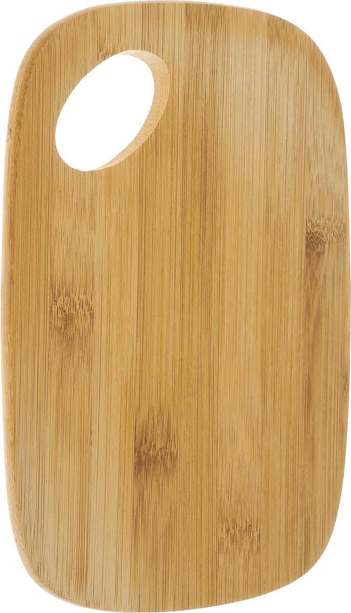 Доска разделочная Kesper, бамбуковая, 22,5 х 14,5 см5131-0Разделочная доска Kesper изготовлена из натурального дерева. Благодаря среднему размеру на ней удобно разделывать различные продукты и она не занимает много места. Функциональная и простая в использовании, разделочная доска Kesper прекрасно впишется в интерьер любой кухни и прослужит вам долгие годы. Для мытья использовать неабразивные моющие средства.