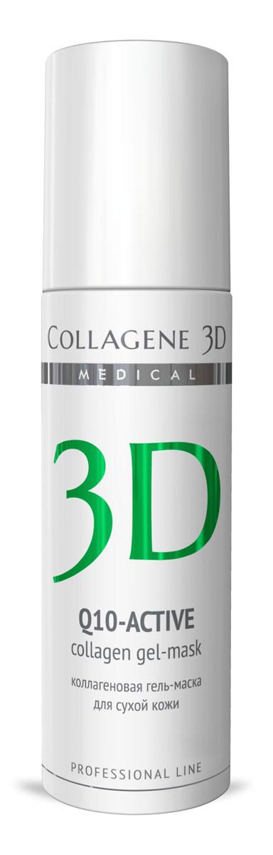 Medical Collagene 3D Гель для лица профессиональныйй Q10-active, 130 мл25018Гель-маска подходит для проведения самостоятельной процедуры, а также сочетается с аппаратными методиками. Защищает кожу от сухости и оксидативного стресса,обеспечивает антиоксидантную защиту, стимулирует выработку энергии, препятствует оксидативному стрессу.