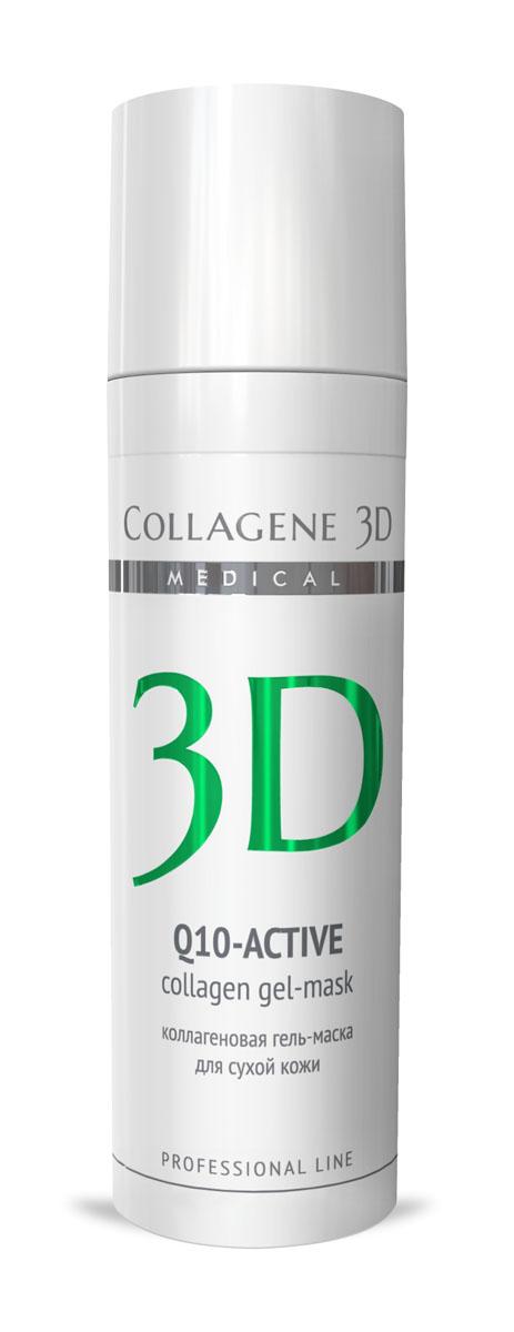 Medical Collagene 3D Гель для лица профессиональный Q10-active, 30 мл25019Гель-маска подходит для проведения самостоятельной процедуры, а также сочетается с аппаратными методиками. Защищает кожу от сухости и оксидативного стресса,обеспечивает антиоксидантную защиту, стимулирует выработку энергии, препятствует оксидативному стрессу.