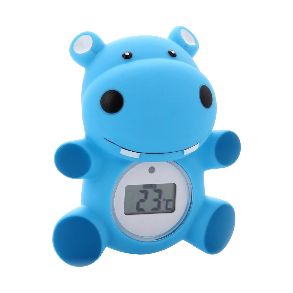 Maman Термометр для воды Бегемот цифровойRT-17Детский термометр для ванны в виде забавной игрушки поможет мамам более точно контролировать температуру воды при купании ребенка. Так же термометр Maman позволяет измерять комнатную температуру. Диапазон измерения составляет от 0 °C до 50 °C.