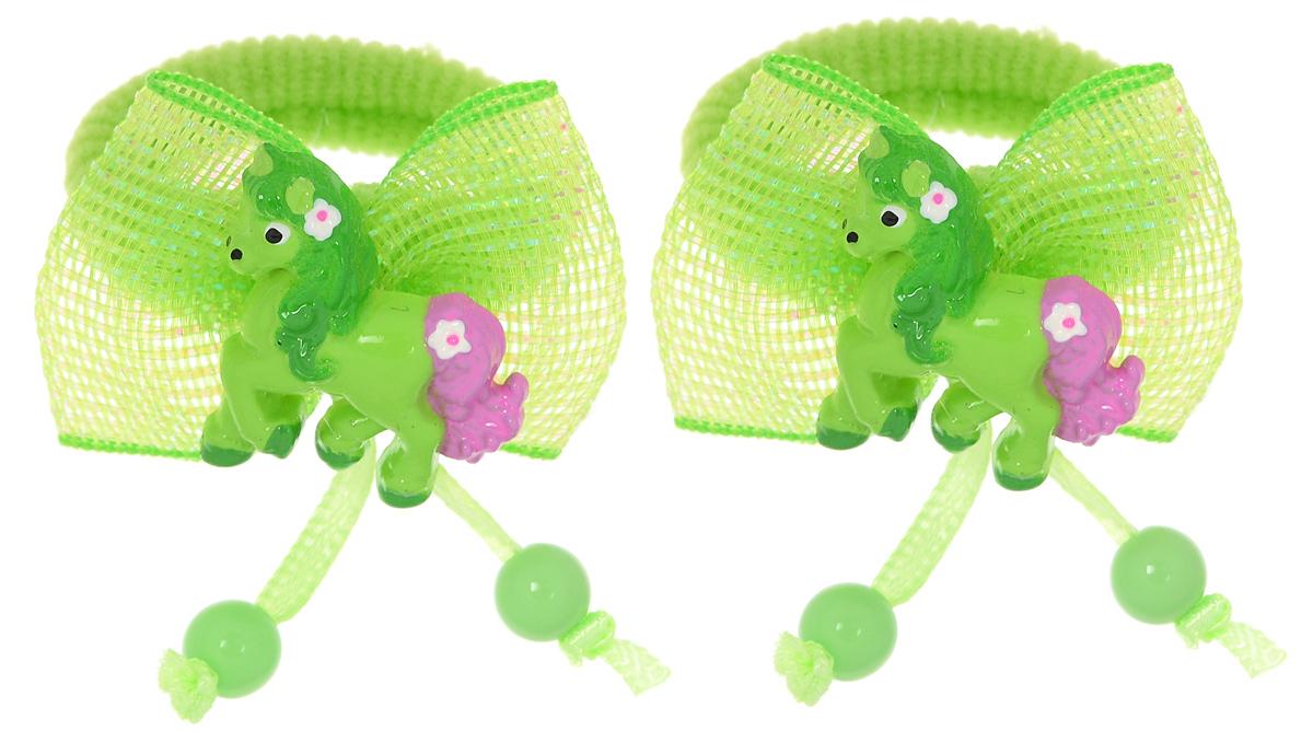 Baby's Joy Резинка для волос цвет салатовый 2 шт VT 191