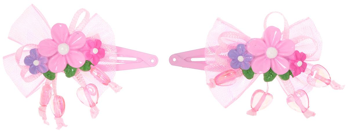 Baby's Joy Заколка для волос цвет розовый 2 шт VT 192