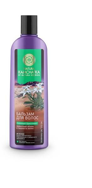 Natura Siberica Kamchatka Бальзам Снежный Бриллиант Эффектный объем и пышность волос, 280 мл086-9-34837Natura Kamchatka Бальзам Снежный Бриллиант Эффектный объем и пышность волос, 280 мл.Камчатский подснежник обладает поразительной жизненной силой и энергией. Это удивительное растение весь год накапливает питательные вещества, чтобы зацвести ранней весной. Благодаря высокой концентрации растительных полисахаридов - в 3 раза больше, чем в сахарном тростнике- камчатский подснежник устойчив к морозам и способен расти даже под снегом. Комплекс полисахаридов создает защитную пленку, удерживая влагу внутри стержня волоса, защищая от пересыхания и ломкости.Сибирский эдельвейс вбирая в себя всю силу богатых минералами вулканических почв, обладает свойством активной стимуляции роста волос и борьбы с их выпадением. В результате волосы приобретают густоту и роскошный объем. Ультралегкая формула без SLS, силикона и парабенов не утяжеляет волосы. Особенности состава: Ультралегкая формула без SLS, силикона и парабенов не утяжеляет волосы. (*) - органические ингредиенты (WH) - органические...