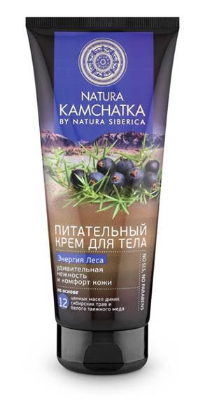 Natura Siberica Kamchatka Крем для тела Энергия леса удивительная нежность, 200 мл