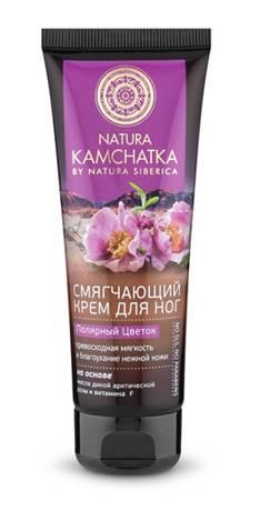 Natura Siberica Kamchatka Крем для ног Полярный цветок мягкость и благоухание нежной кожи, 75 мл