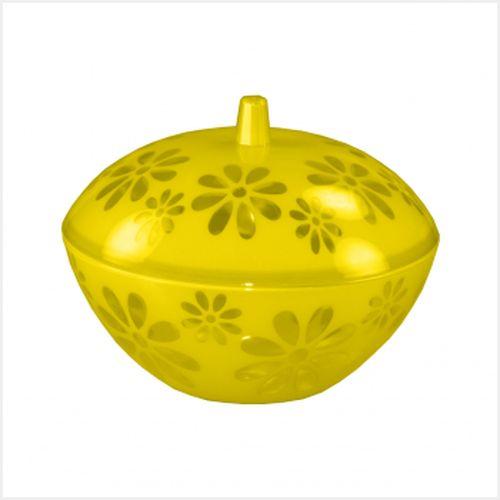 Чаша 1,7л Соблазн с крышкой, желтый. М2324М2324