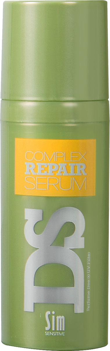 SIM SENSITIVE Сыворотка для восстановления волос Repair 50 мл5186Сыворотка Рипеир входит в состав Рипеир комплекса DS by Sim Sensitive. Основной задачей сыворотки является восстановление и увлажнение волос. Благодаря входящему в состав сыворотки органическому маслу арганы в большой концентрации, она действует мгновенно, сохраняя волосы ухоженными, шелковистыми и блестящими, а прическу легкой и естественной максимально долго (до следующего мытья волос.Состав:масло Арганы и гидролизированный белок пшеницы.Сыворотка не содержит парабены и ароматизаторы.
