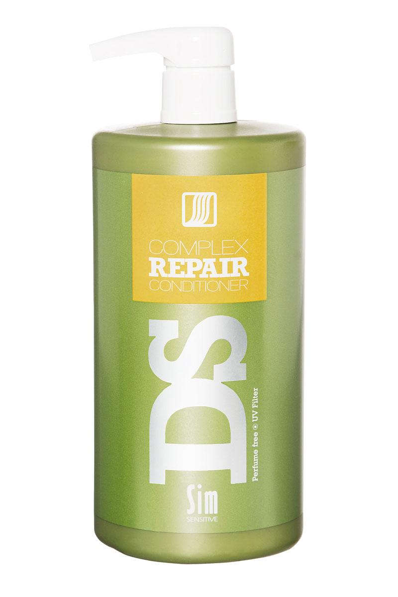 SIM SENSITIVE Бальзам для восстановления волос Repair 1000 мл5286Бальзам Рипеир входит в состав Рипеир комплекса DS by Sim Sensitive. Основной задачей бальзама является увлажнение, смягчение и запечатывание волос, в результате чего волосы становятся шелковистыми и послушными.Состав:вода, дисодиум лоурет сульфосукцинат, моющее средство на основе кокосового масла, глицерин, аргановое масло, производные гидролизованного белка пшеницы, гидролизованный растительный белок, УФ фильтр.