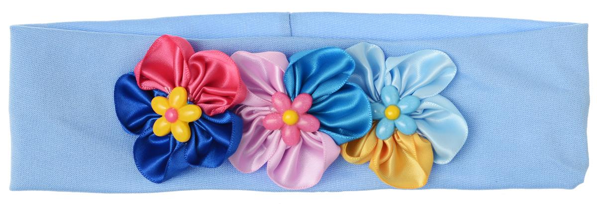Baby\'s Joy Повязка для волос цвет светло-сиреневый мультиколор ( VT 93_светло-сиреневый )