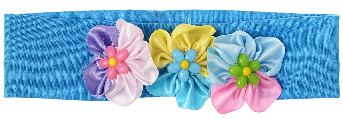Baby\'s Joy Повязка для волос цвет синий мультиколор ( VT 93_синий )