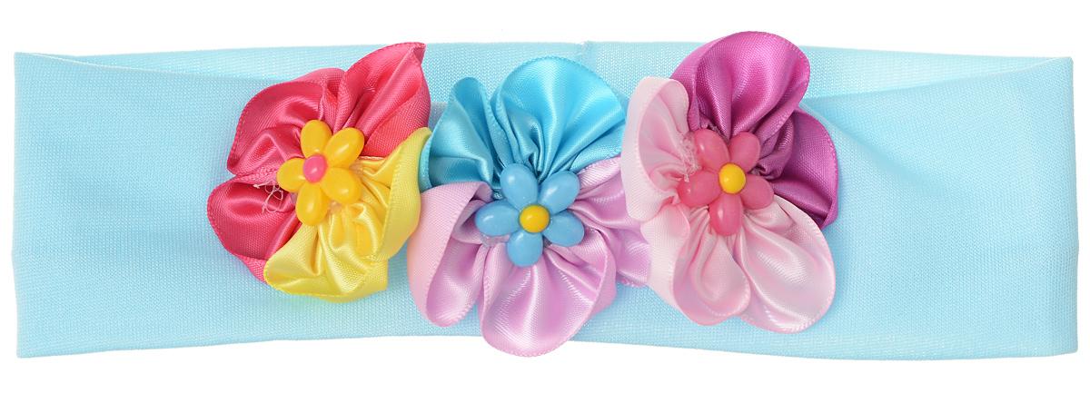 Baby\'s Joy Повязка для волос цвет голубой мультиколор ( VT 93_голубой )