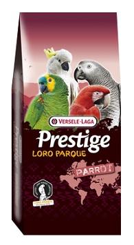 Корм VERSELE-LAGA для крупных попугаев Prestige PREMIUM Amazone Parrot Loro Parque Mix 15 кг 421993