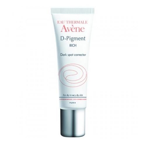 Avene D-Pigment Riche, осветляющий крем для лица от пигментных пятен для сухой и очень сухой кожи 30 млC31011Осветляющий крем от пигментных пятен - это высокоэффективный ночной уход против пигментных пятен всех видов. Корректирует, предотвращает появление коричневых пятен и выравнивает цвет лица. Мощный комплекс из трех компонентов эффективно борятся, как с проявлением лентиго, так и с мелазмой. Уменьшение пигментации: -81% через 12 недель применения