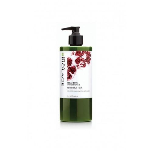 Matrix Biolagel ОЧИЩАЮЩИЙ кондиционер для КУДРЯВЫХ волос (экстракт граната) 500 МЛ (Matrix Cosmetics)