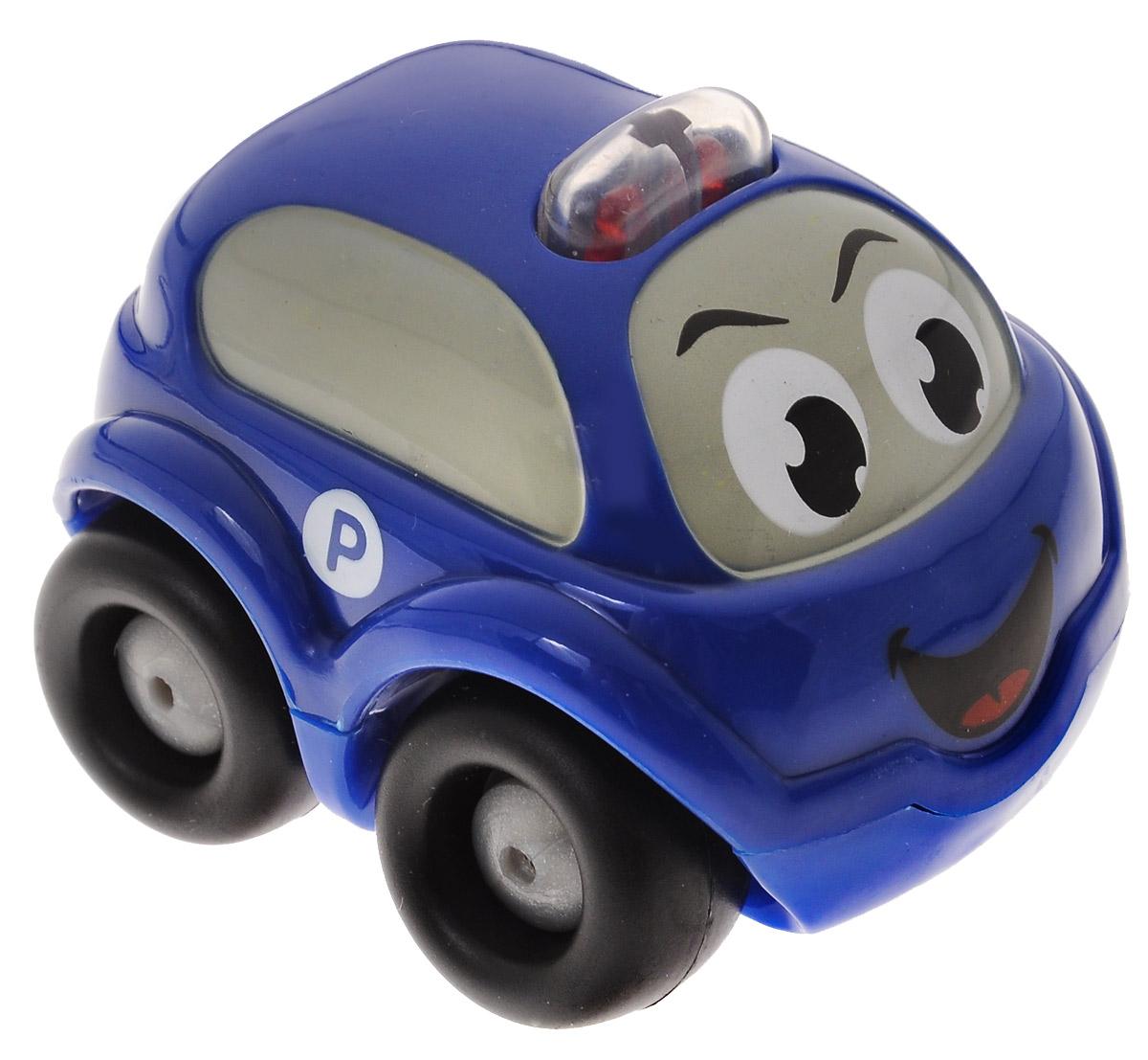 Smoby Машинка Vroom Planet цвет синий211253_синийМини-машинка из серии Vroom Planet непременно привлечет внимание малыша благодаря звуковым и световым эффектам. Игрушка выполнена из абсолютно безопасного для малыша высококачественного пластика. Машинка снабжена небольшим моторчиком и дополнен световыми и звуковыми эффектами. Игра с машинкой помогает развивать мелкую моторику, цветовосприятие, координацию движений, а также являются хорошим средством для развлечения ребенка. Порадуйте своего малыша таким замечательным подарком. Питание: 2 батарейки напряжением 1,5V типа LR44/AG13 (входят в комплект).