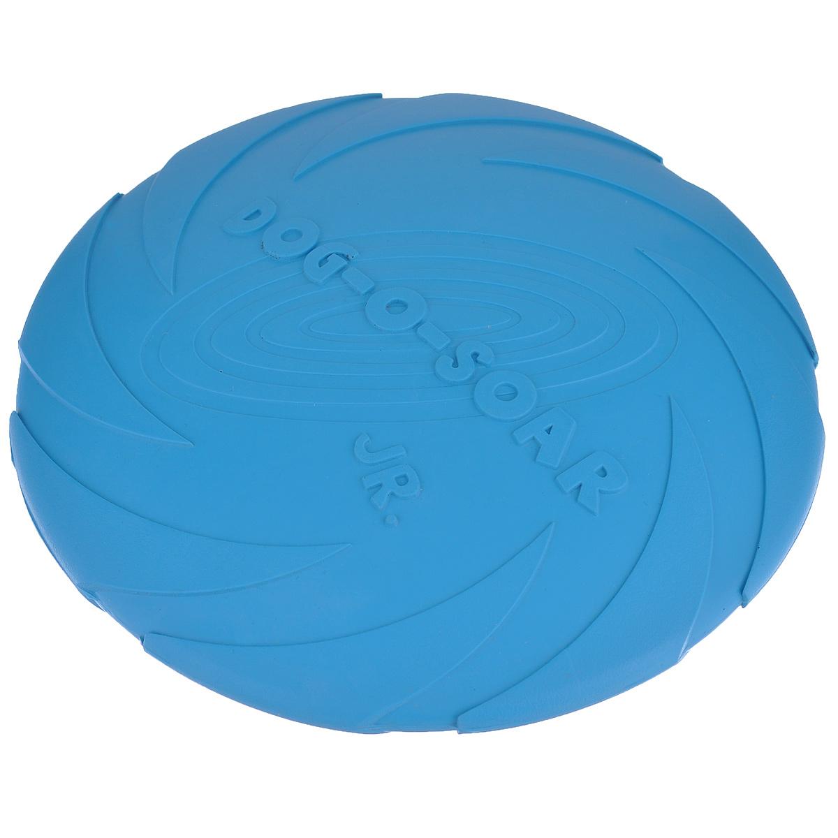 Игрушка для собак I.P.T.S. Фрисби, цвет: голубой, диаметр 18 см16200/625704_голубойИгрушка I.P.T.S. Фрисби, выполненная из резины, отлично подойдет для совместных игр хозяина и собаки. В отличие от пластиковых, такая игрушка не образует острых зазубрин и трещин, способных повредить десны питомца. Совместные игры укрепляют взаимоотношение и понимание. Диаметр: 18 см.